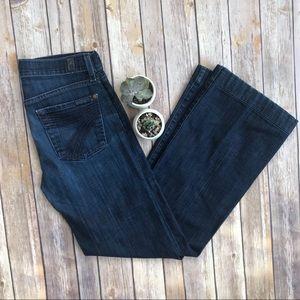 7 For All Mankind Dojo Trouser Jeans Size 24